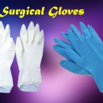 Surgical gloves manufacturing
