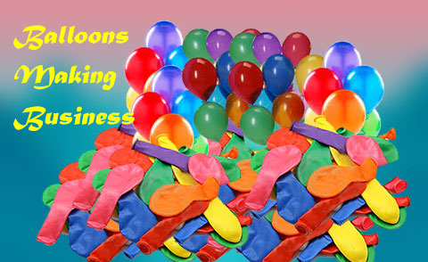 Rubber Balloons making-business