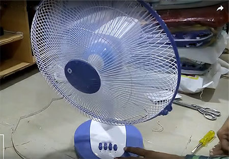 Table Fan making-business