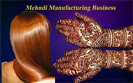 Mehndi Manufacturing business