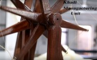 Khadi cloth and garment manufacturing