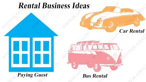Rental Business ideas in hindi