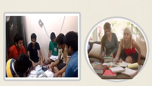 hostel business in hindi