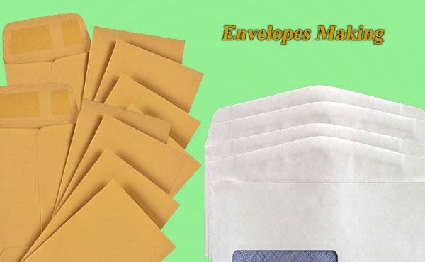 Envelope making business in hindi