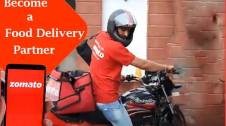 process to become a Zomato Delivery Partner