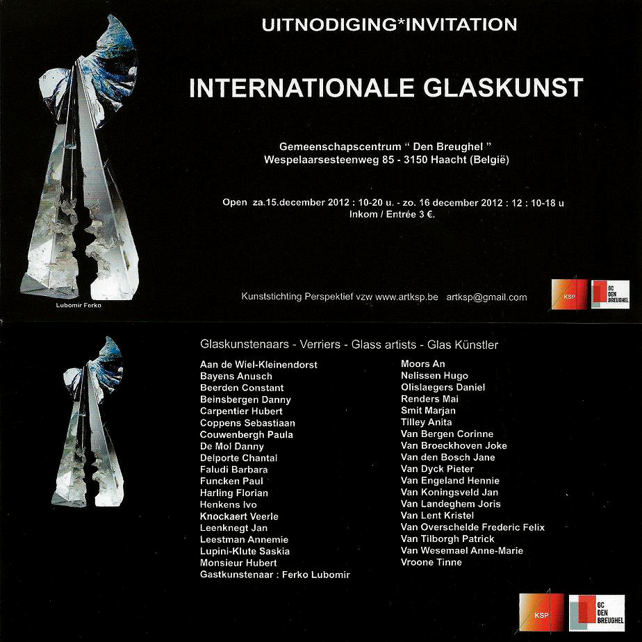 Internationale glaskunst Haacht 2012