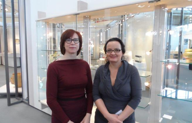Annemie De Corte en Elke-Helene Hügel