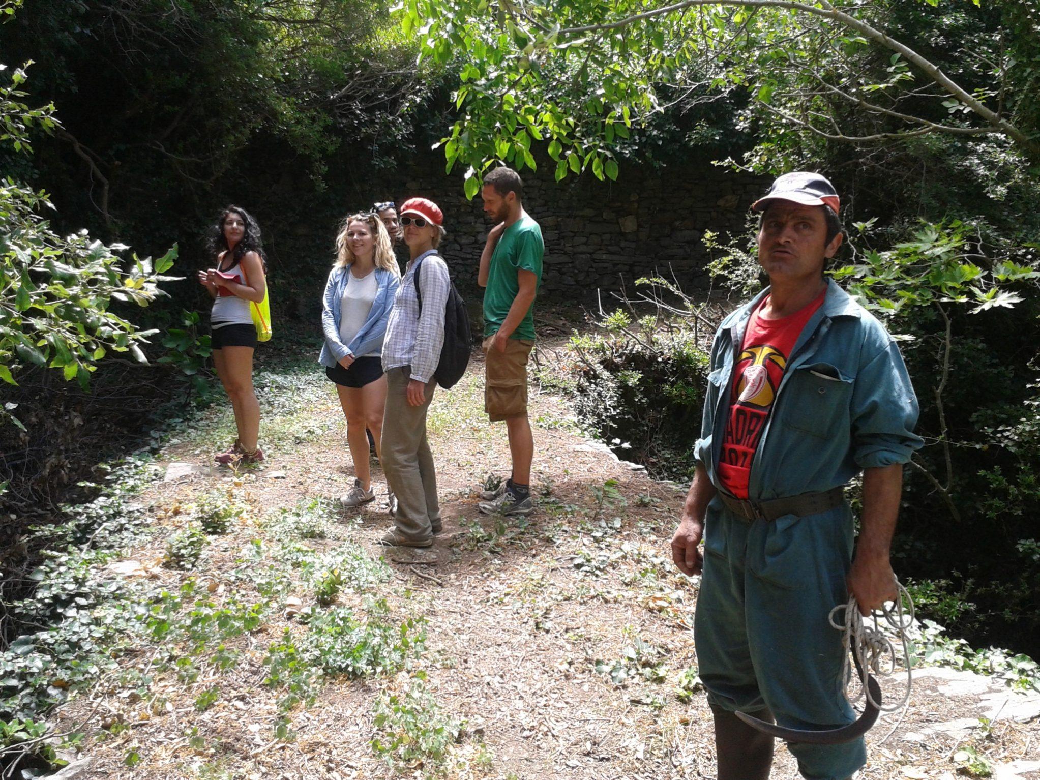 Volunteers from Karavostamo