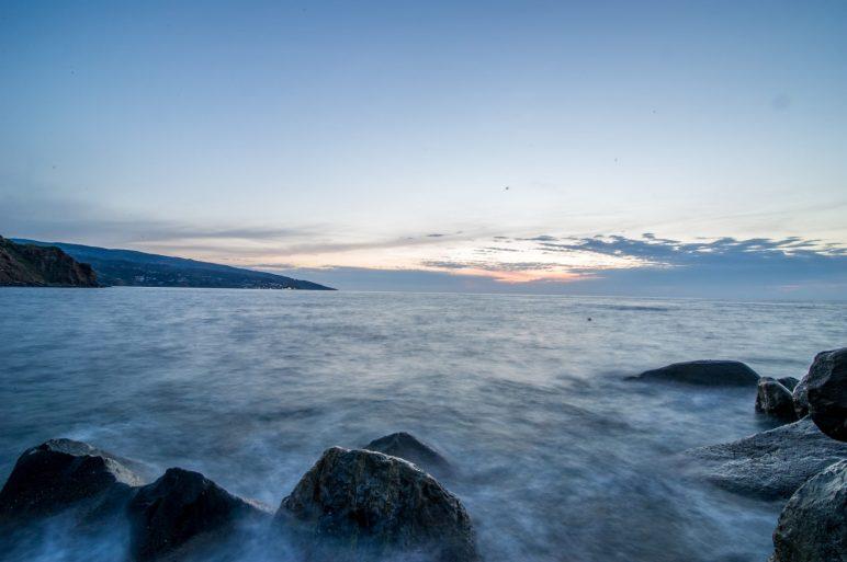 sunset in Karavostamo