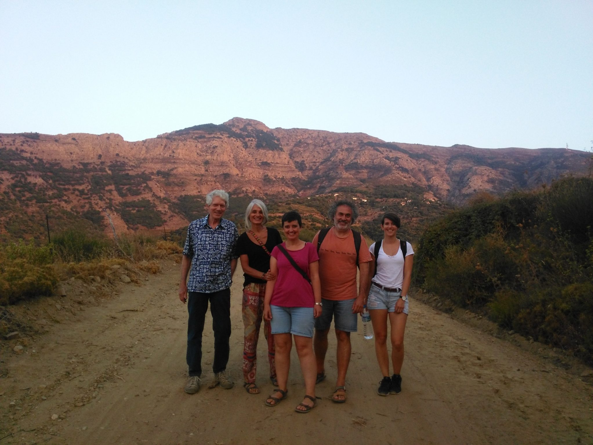 Hiking and Panigiri at Karavostamo