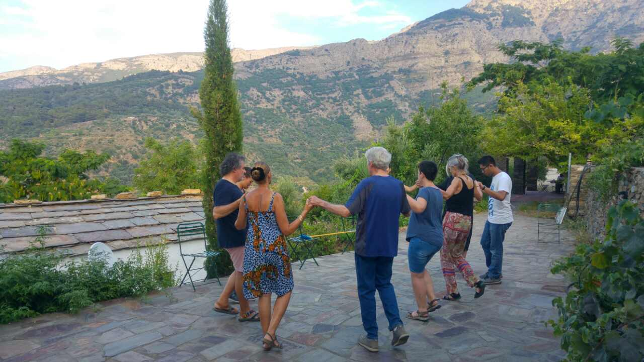 Traditional dance lesson & Hiking Arethousa-Karavostamo
