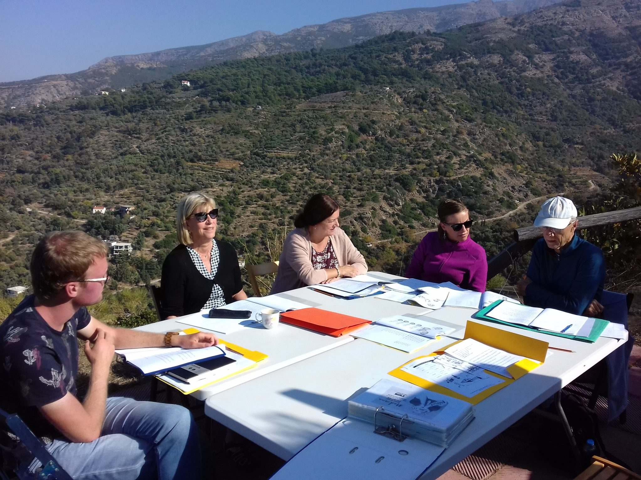 Long term summer Greek language course