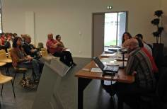 Les représentant d'Ikas-Bi évoquent la situation actuelle de l'enseignement bilingue