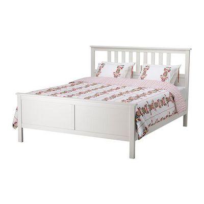 hemnes cadre de lit tache blanche 160x200 voir