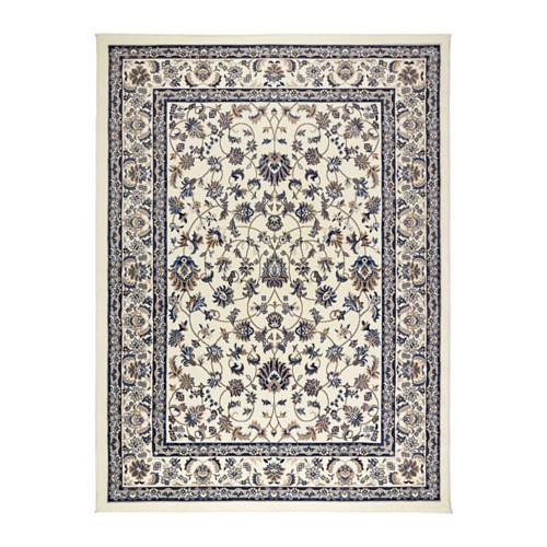 valloby tapis poil court beige bleu 170x230 cm