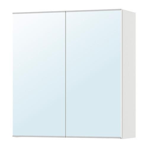 Lillangen Armoire A Miroir Avec Portes 2 Blanc 60x21x64 Cm 202 051 71 Avis Prix Ou Acheter