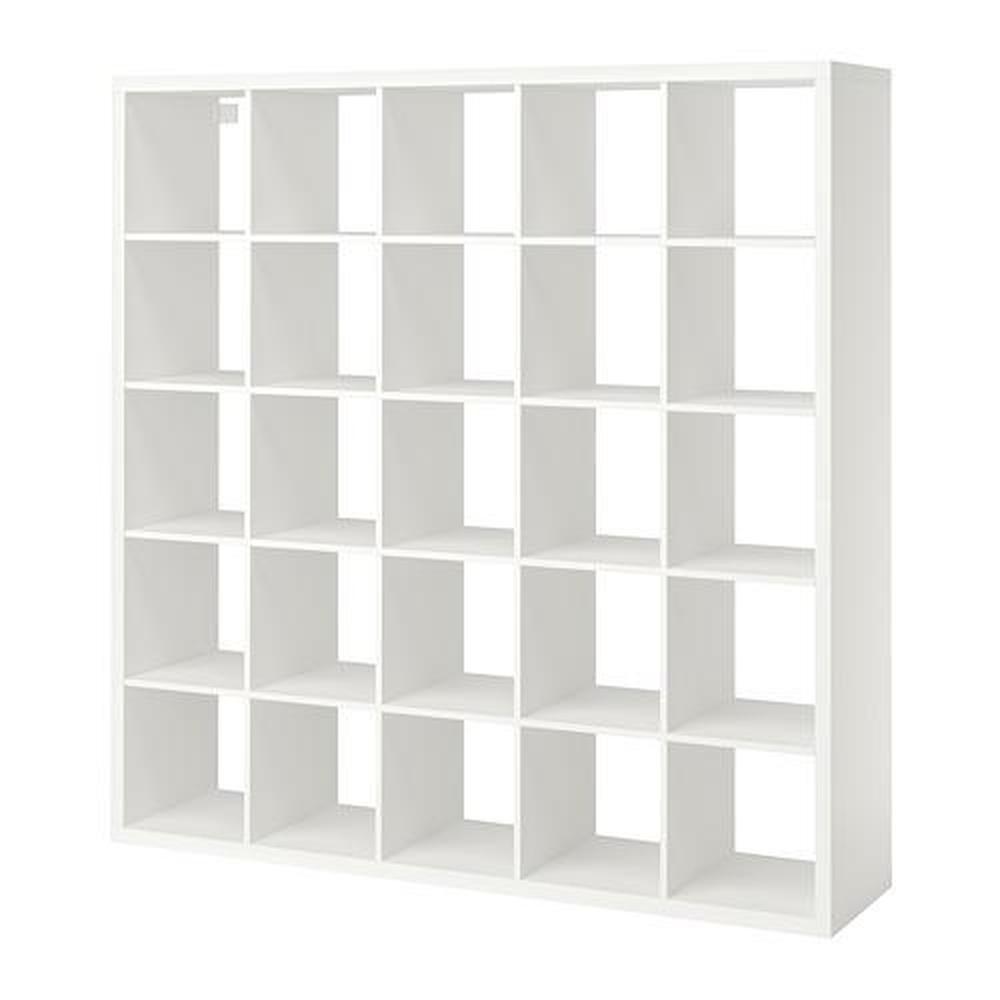 kallax bibliotheque blanc 182x39x182 cm
