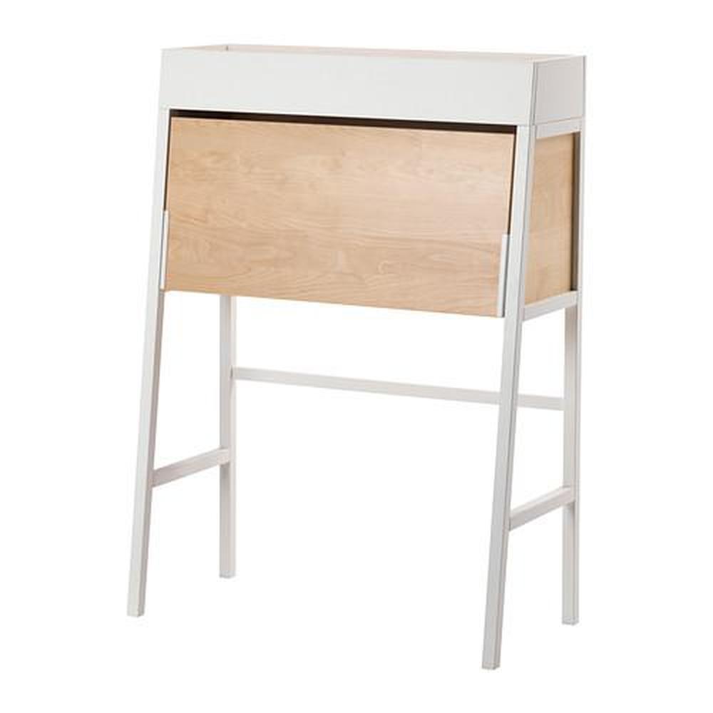 ikea ps 2014 bureau blanc placage de bouleau