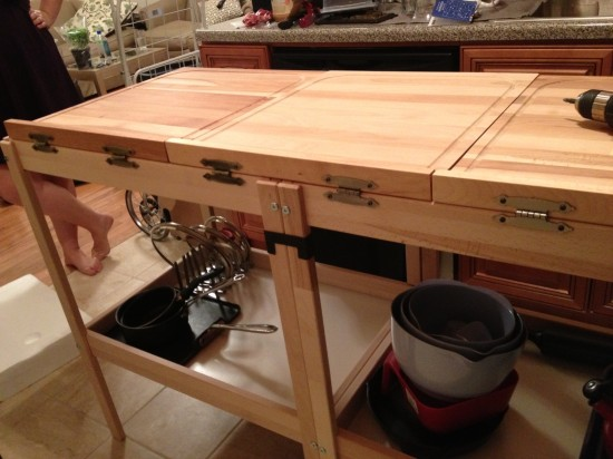 Tandem Changing Table And Chopping Boards