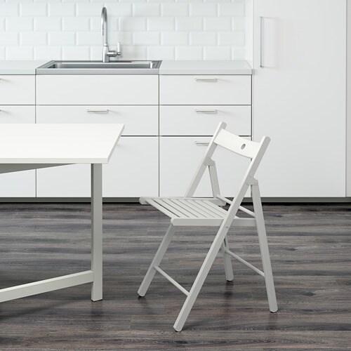 TERJE 泰耶 折疊椅 - 白色 - IKEA