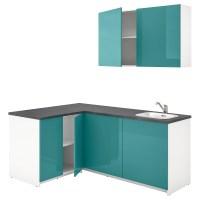 KNOXHULT   kitchen, high gloss blue turquoise   IKEA Hong Kong