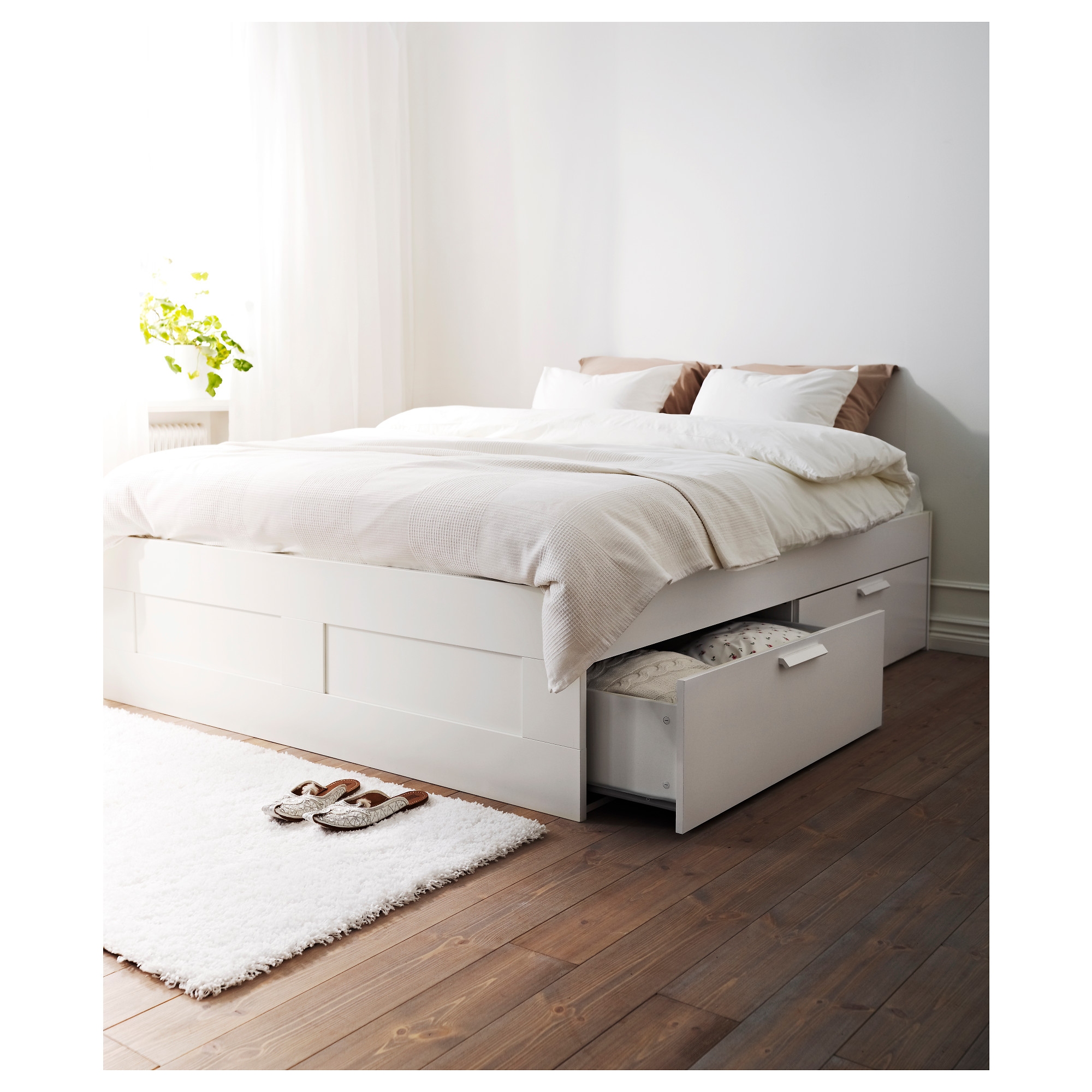 Brimnes Bed Frame With Storage Luroy Queen Ikea Hong Kong And Macau