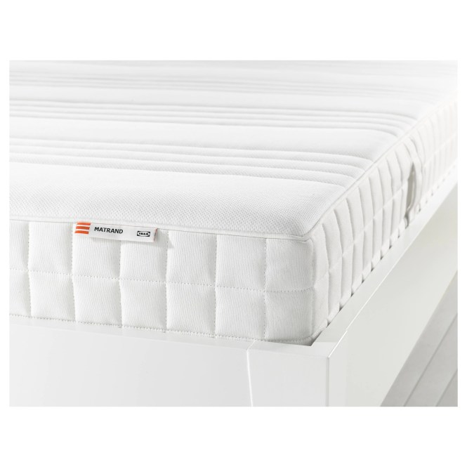 Matrand Memory Foam Mattress Firm White Length 74 3 8 Width