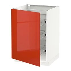 Ikea Kitchen Base Cabinet Height Metod Forvara Base Cabinet With 5