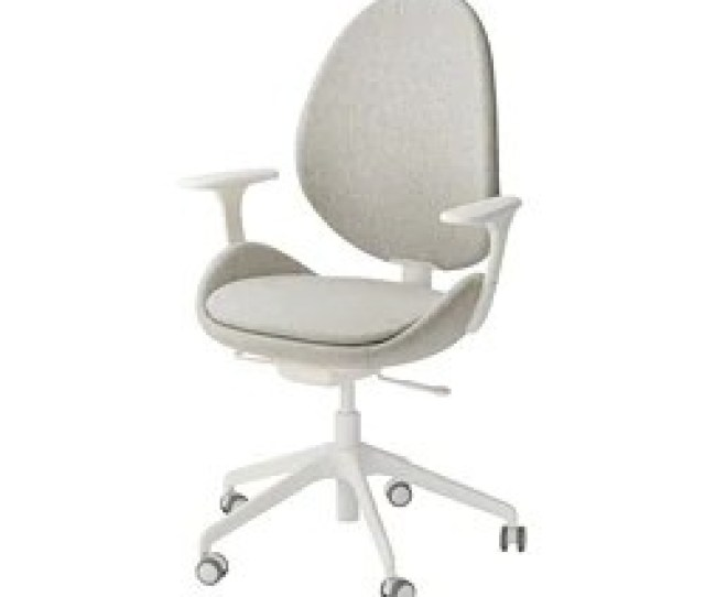 Hattefjall Swivel Chair With Armrests