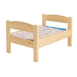 DUKTIG Doll's bed with bedlinen set