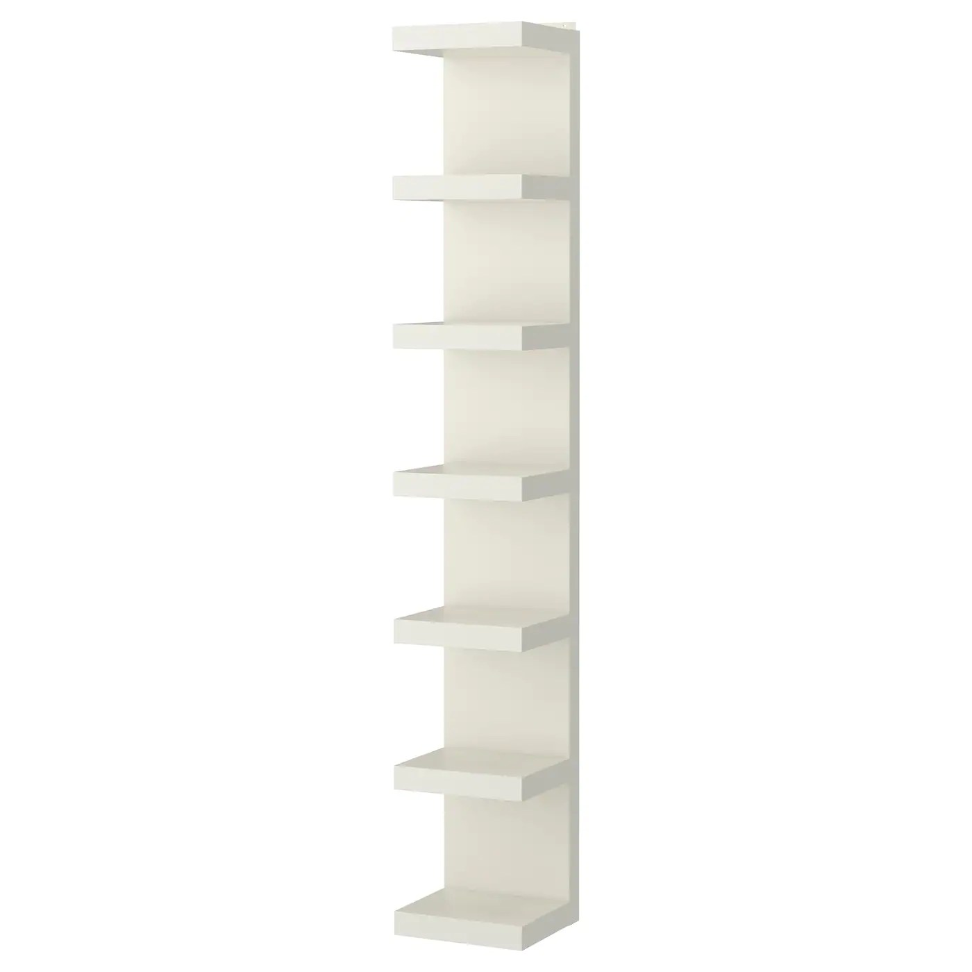 Wall Shelf Unit Lack White