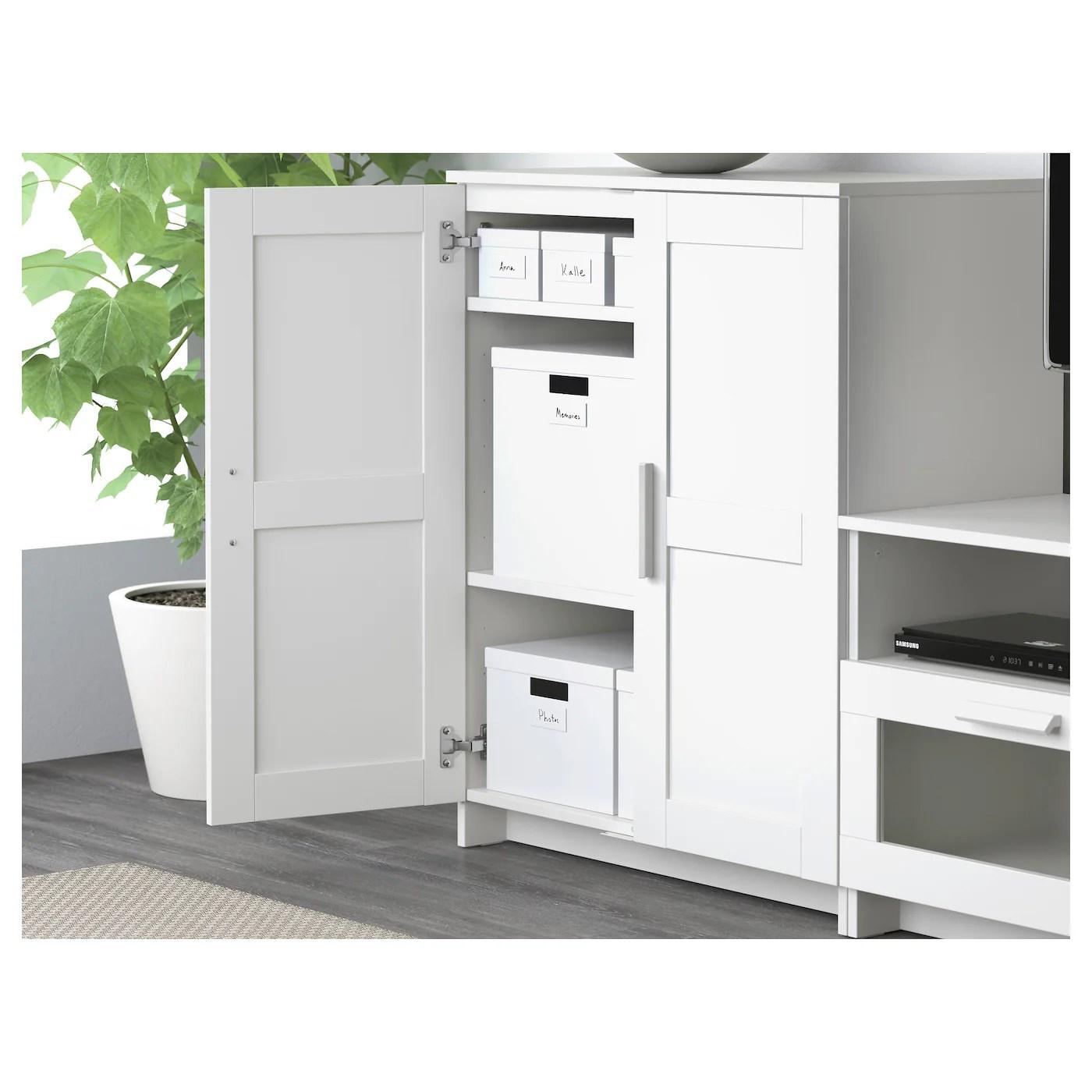 BRIMNES Schrank mit Türen, weiß, 78x95 cm   IKEA Österreich