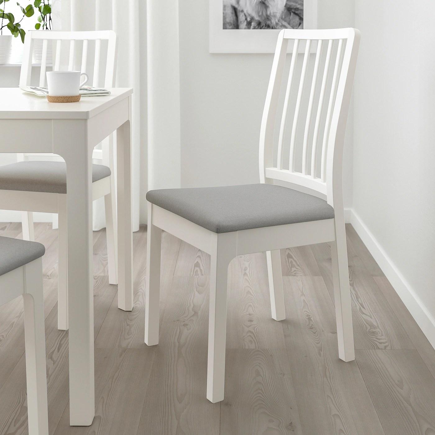 EKEDALEN Stuhl   weiß, Orrsta hellgrau   IKEA Österreich