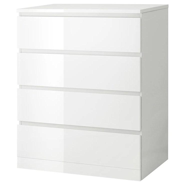 Kommode Schubladen Weiß 2021