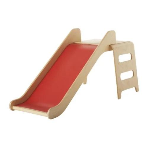 VIRRE Rutschbahn IKEA Trägt dazu bei, den kindlichen Gleichgewichtssinn und das Koordinationsvermögen zu entwickeln.