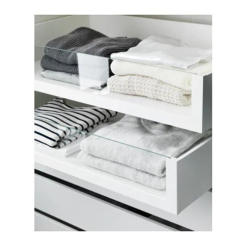 Cute KOMPLEMENT Drawer with glass front IKEA year guarantee Read about the terms in the