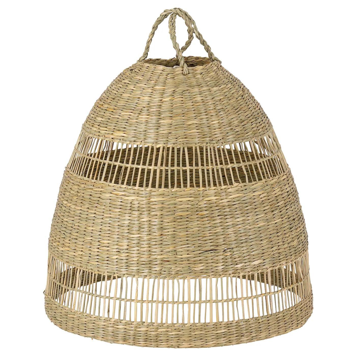 Torared Pendant Lamp Shade Seagrass 36 Cm Ikea
