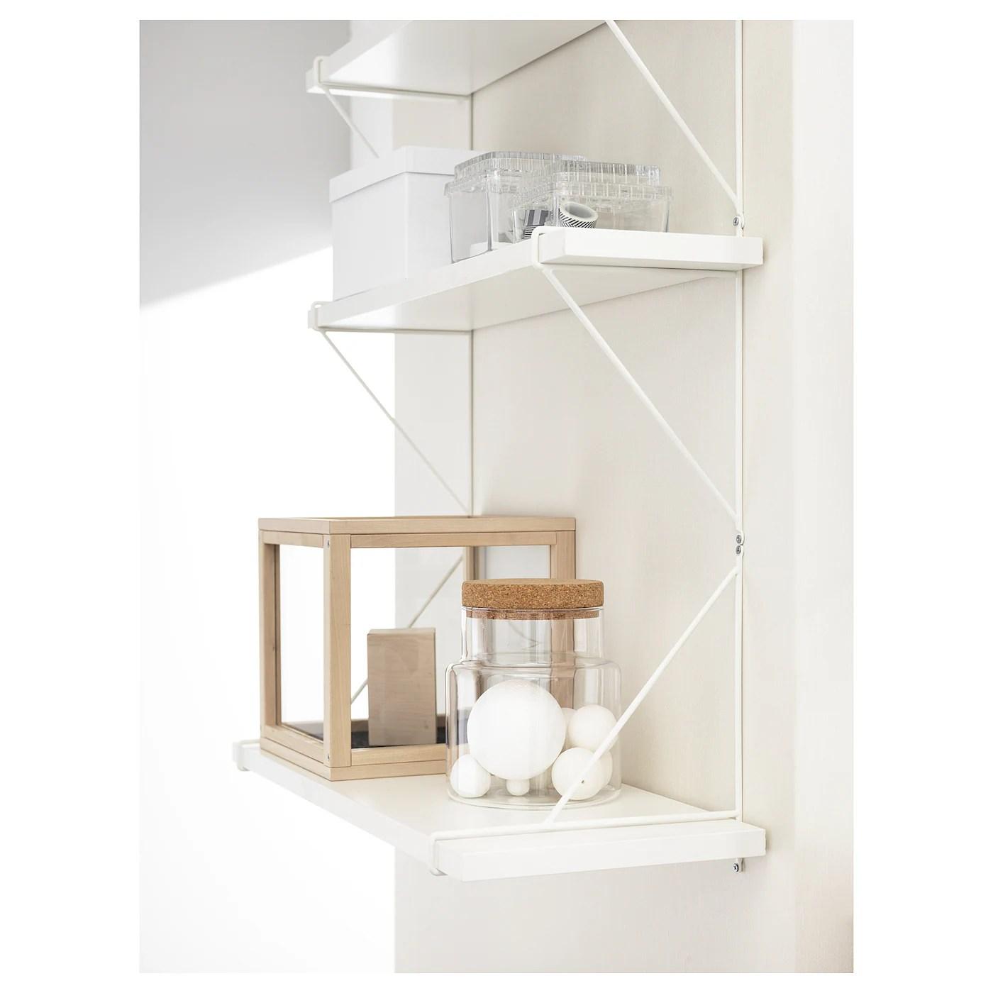 Bergshult Pershult Etagere Murale Blanc Blanc 80x30 Cm Ikea
