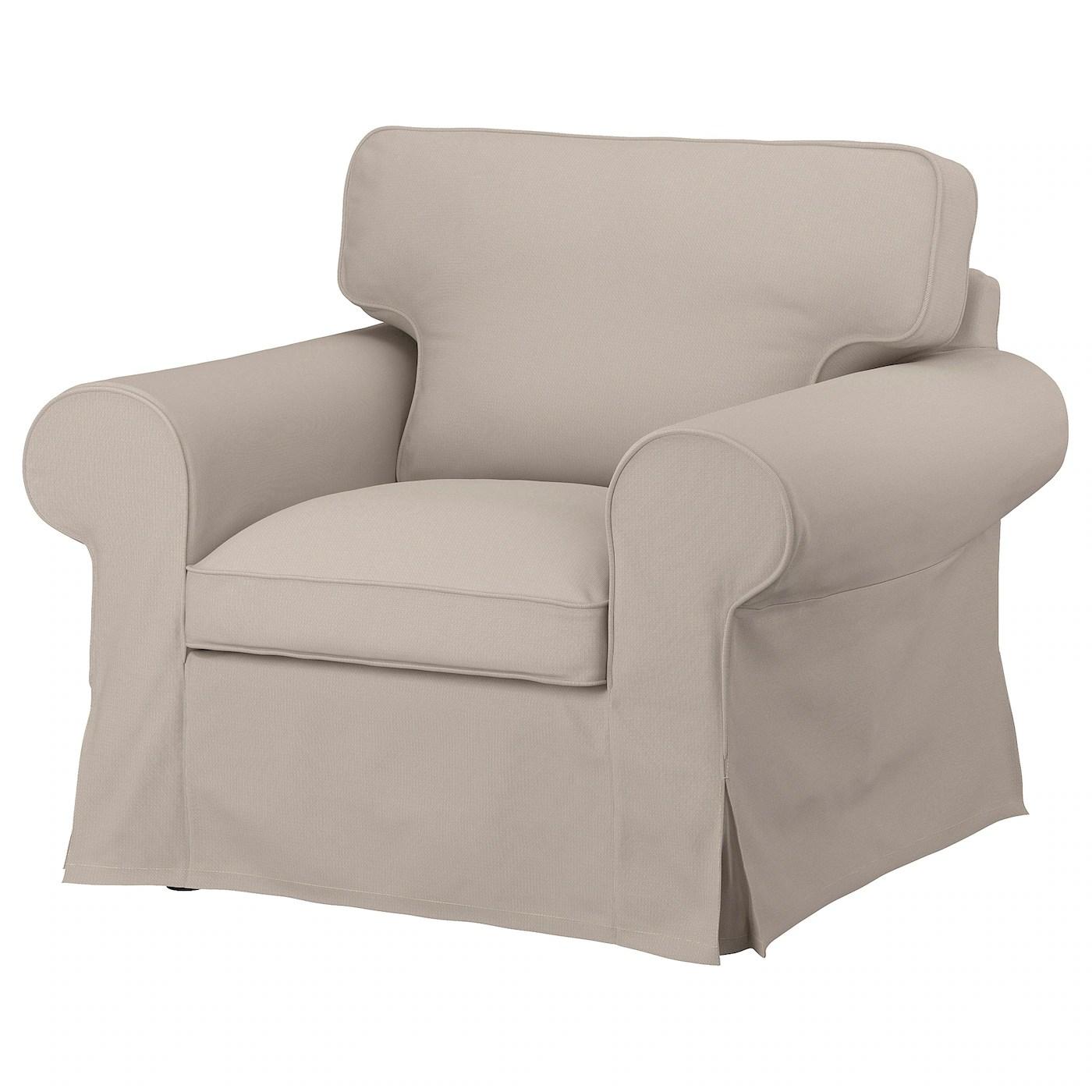 ektorp housse pour fauteuil totebo beige clair