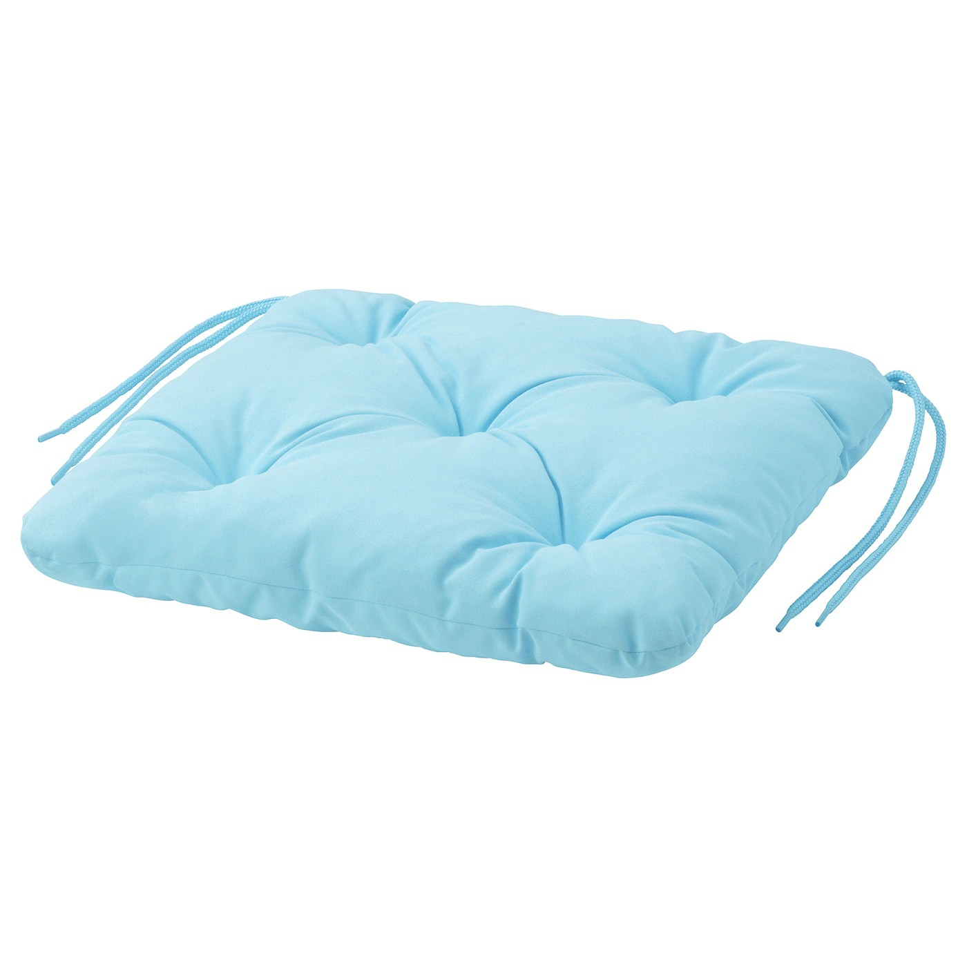 kuddarna coussin de chaise exterieur bleu clair 36x32 cm