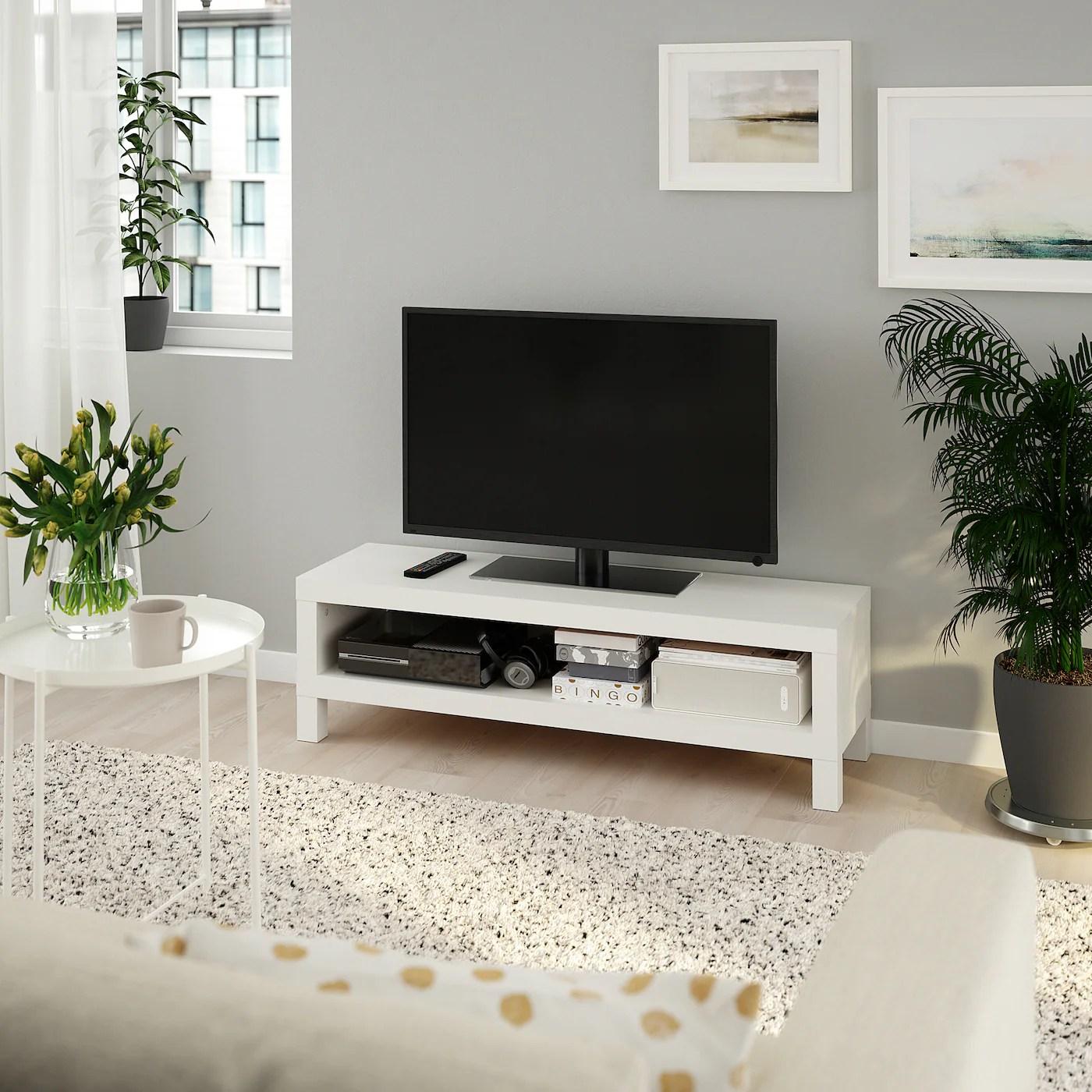 Lack Banc Tv Blanc 120x35x36 Cm Ikea