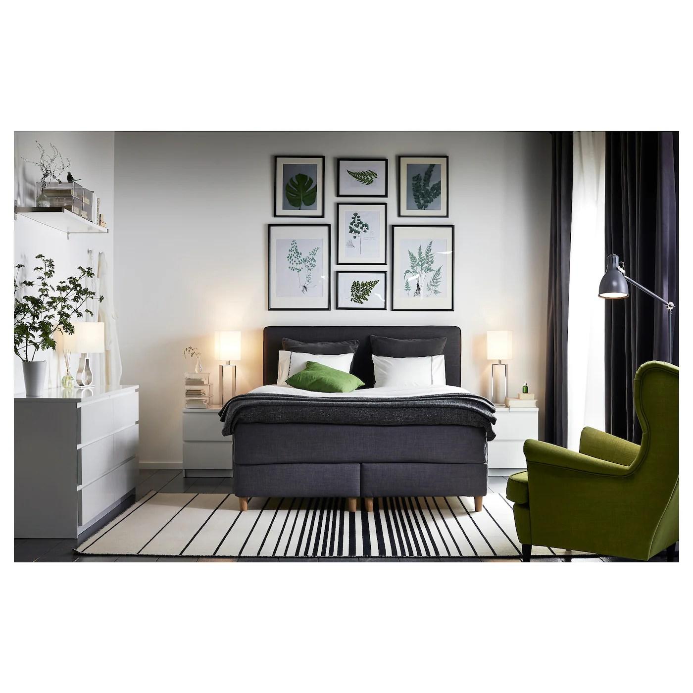 MALM Commode 2 Tiroirs Blanc 40 X 55 Cm IKEA