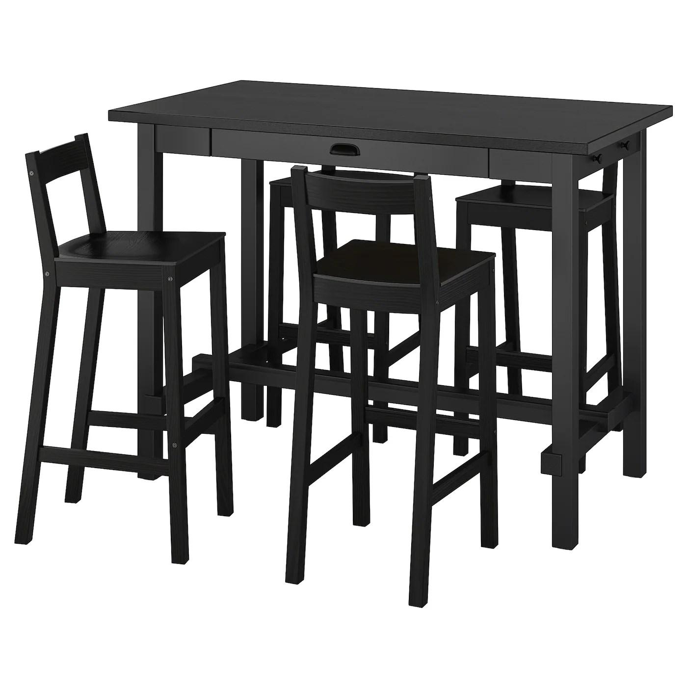 ensemble tables chaises de bar ikea