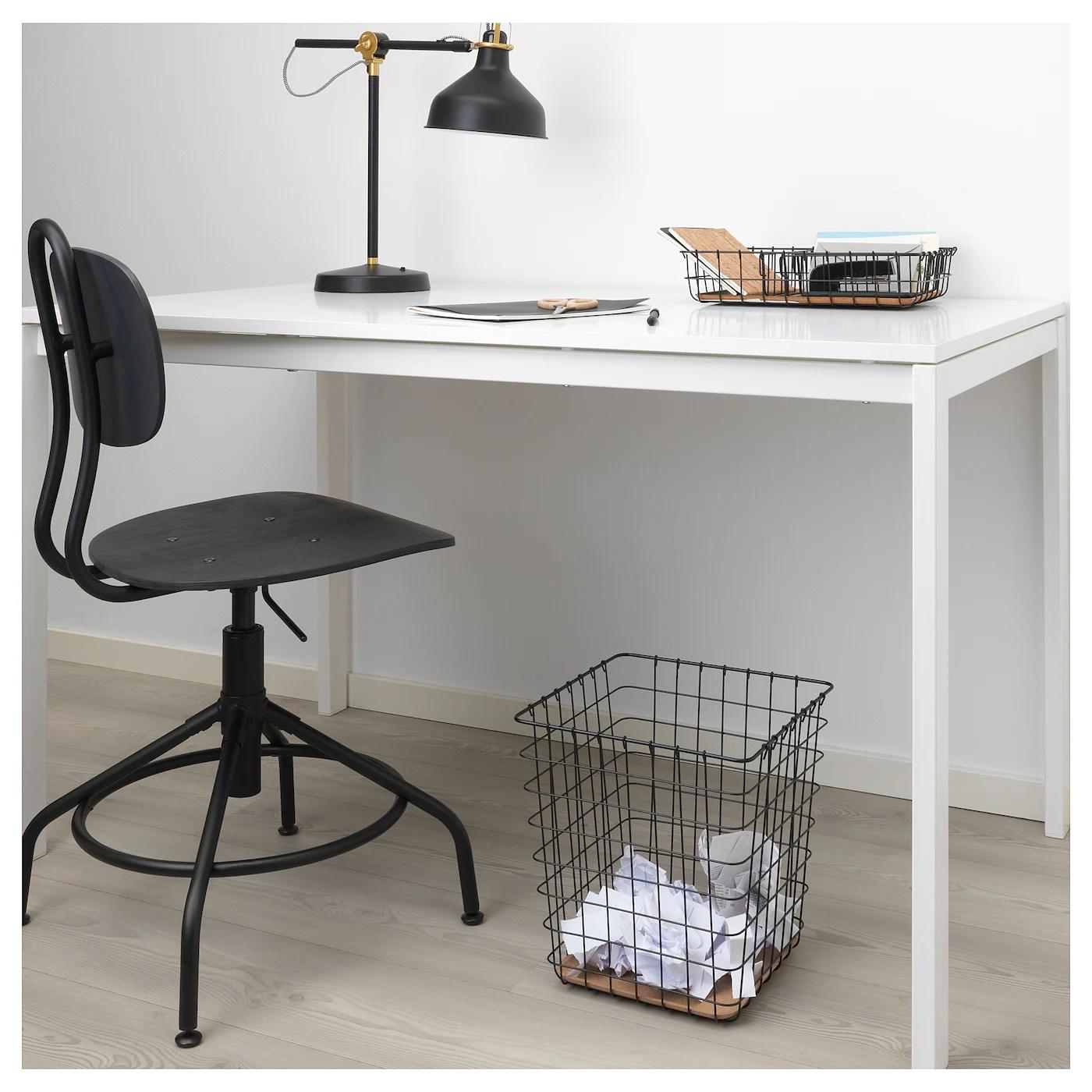 Pleja Corbeille A Papier Noir 20 L Ikea