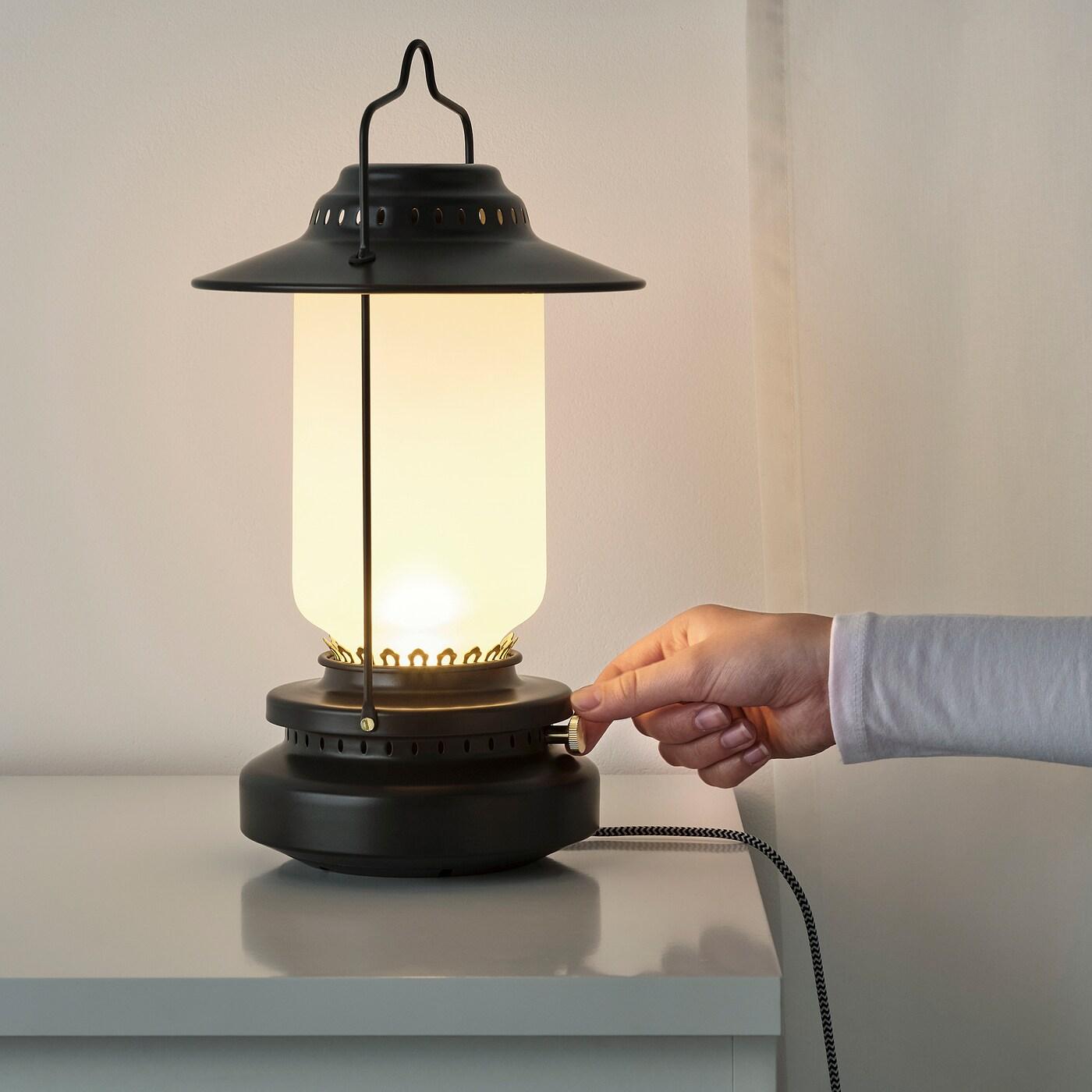 Storhaga Lampe De Table A Led Intensite Lumineuse Reglable Exterieur Noir 35 Cm Ikea