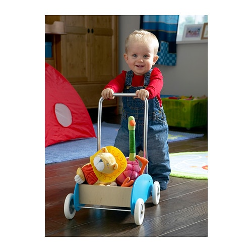 EKORRE Toddle truck IKEA When walking by themself, a child develops motor skills and balance.