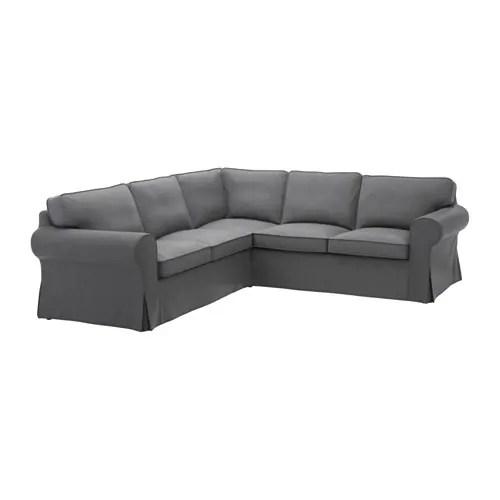 EKTORP Sectional 4 Seat Corner Nordvalla Dark Gray IKEA