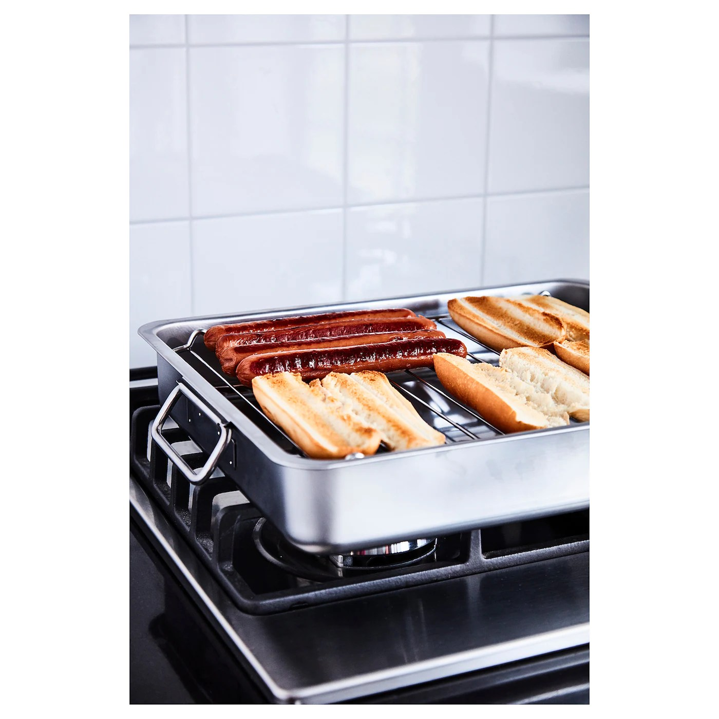 ikea small koncis stainless steel