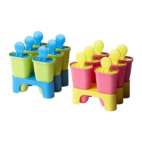 "MOLNFRI Ice pop maker, assorted colors Height: 4 ""  Height: 10 cm"