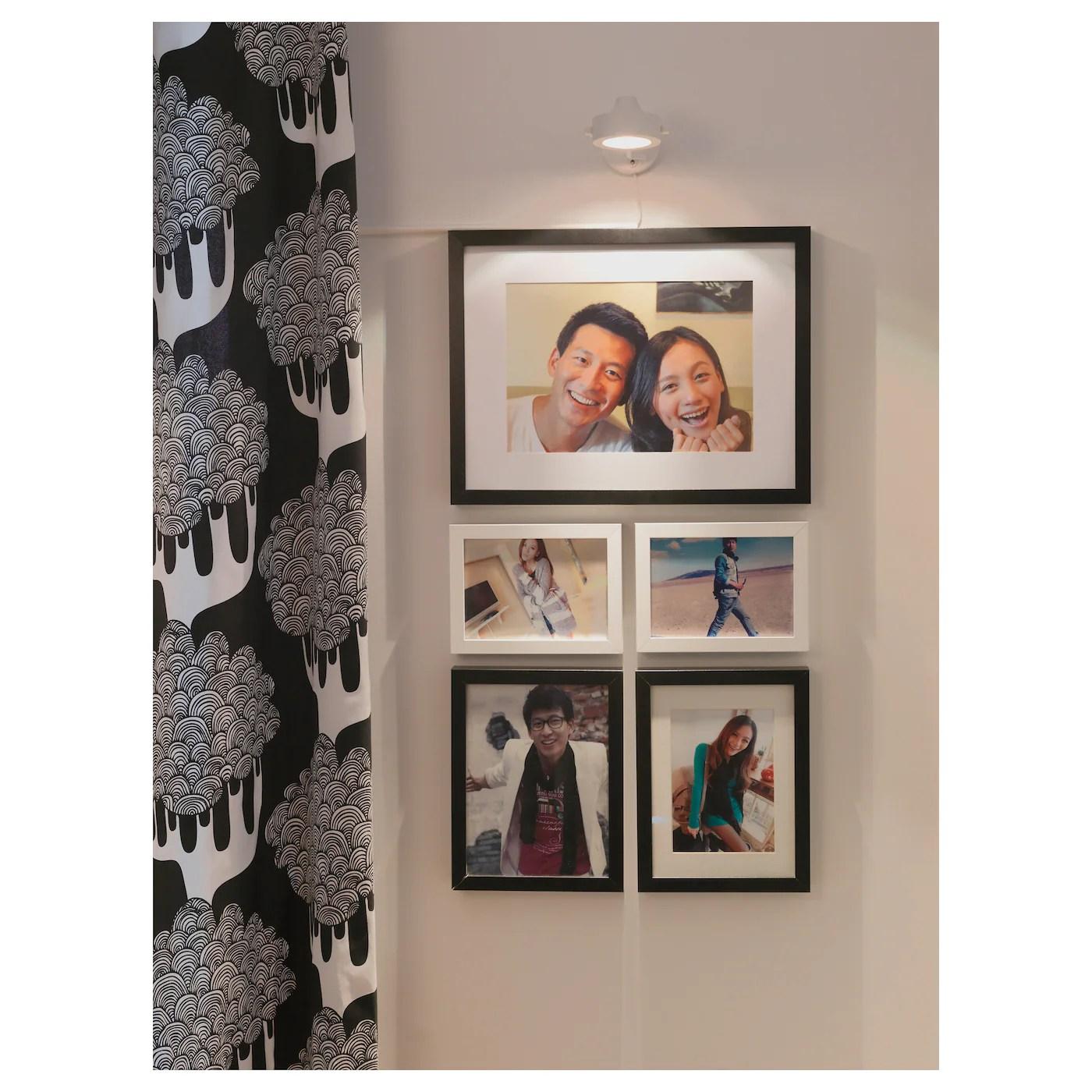 ribba frame black 12x16 31x41 cm